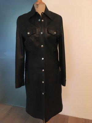 Steffen Schraut Leather Coat black