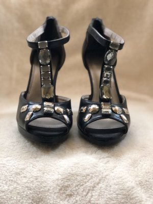 H&M Conscious Collection Strapped pumps black imitation leather