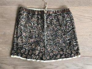 Mini rok veelkleurig