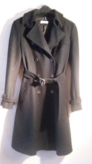 Exklusiver Wollmantel / Trenchcoat von Strenesse Blue, Größe 36/38