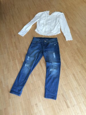 Exklusives Designerpaket Jeans und Bluse 7 for all Mankind Josie  Zara Gr 34/36
