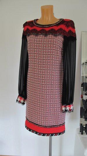 Rena Lange Wollen jurk donkerrood