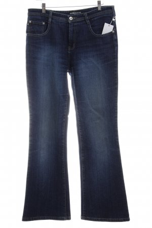 Express Boot Cut Jeans blau Used-Optik