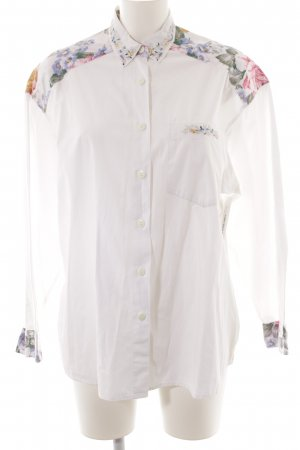 Express Hemd-Bluse Blumenmuster Casual-Look