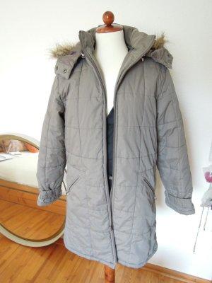 Express Mantel mit abnehmbarer Kapuze in Khakifarben Gr. S 36/38