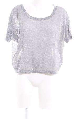 Express Oversized Shirt silberfarben-hellgrau Elegant