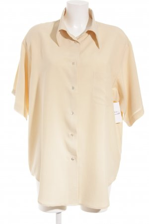 EXPRESS SILK Oversized Bluse blassgelb Casual-Look