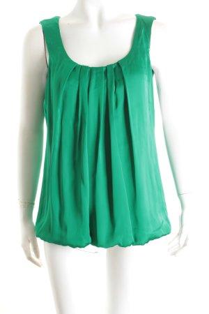 Expresso Blusentop grün Eleganz-Look