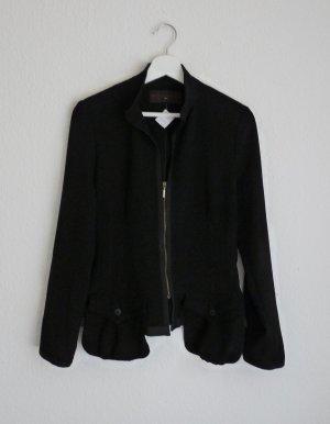 Expresso Damen Jacke S M 38 *NEU* schwarz Fashion Style Blogger leicht