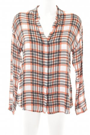 Expresso Camicia blusa motivo a quadri stile country