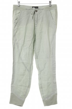 Expresso Pantalone a vita alta verde-grigio stile semplice