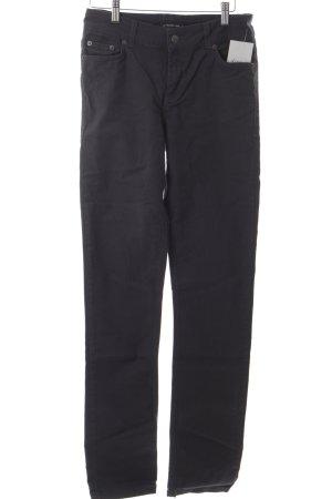 Expresso Jeans vita bassa blu scuro stile rockabilly