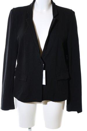 Expresso Jersey Blazer negro estilo «business»