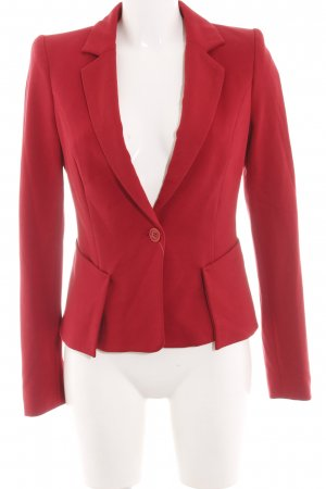 Expresso Jersey Blazer red business style