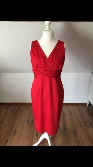 Expresso Kleid Rot Abschluss Abendkleid 42 40 44 Edel Elegant
