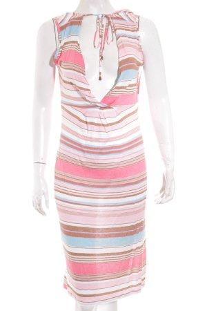 Expresso Kleid Streifenmuster Casual-Look