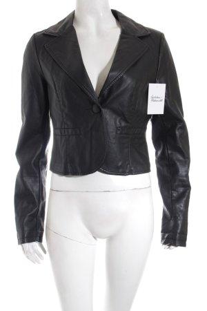 Expresso Kurz-Blazer schwarz extravaganter Stil