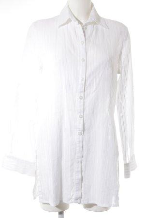 Expresso Blouse met lange mouwen wit casual uitstraling