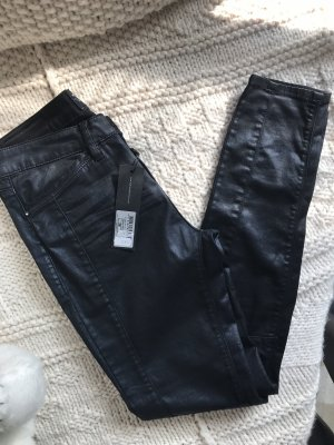 Expresso Leather Trousers black