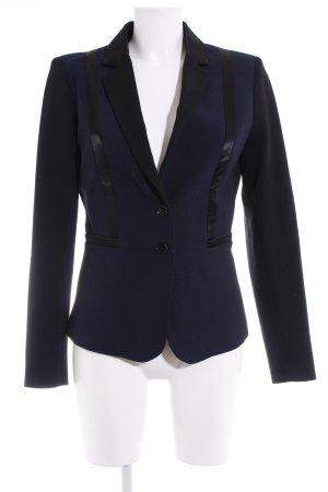 Expresso Long-Blazer schwarz-dunkelblau Brit-Look