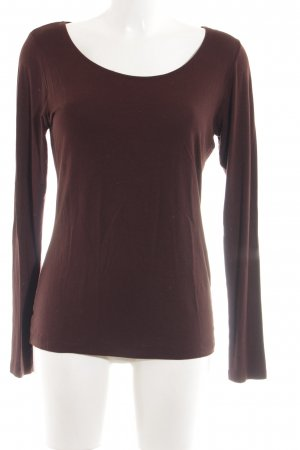 Expresso Longsleeve braun Casual-Look