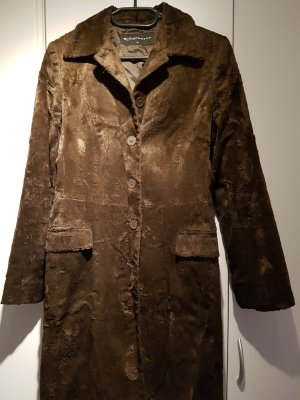 Expresso Mantel aus Kunstfell in braun, Gr. 36 - wie neu!