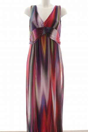 Expresso Maxi-jurk abstract patroon Boho uitstraling