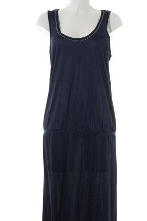 Expresso Maxi abito blu scuro stile casual