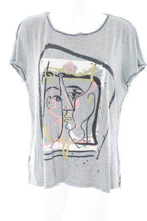 Expresso Shirt met print prints met een thema casual uitstraling