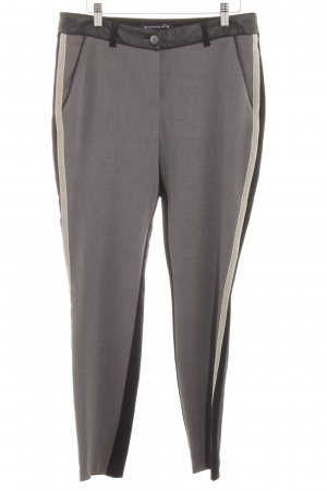 Expresso Drainpipe Trousers multicolored material mix look