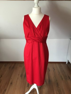 Expresso Rotes Kleid Abschlusskleid 42 L Abendkleid etuikleid Business Kleid