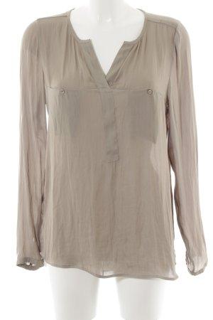 Expresso Schlupf-Bluse beige Elegant