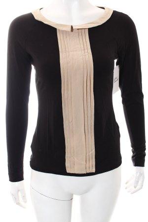 Expresso Shirt schwarz-beige Casual-Look