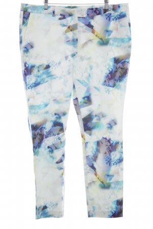 Expresso Stoffen broek abstract patroon casual uitstraling