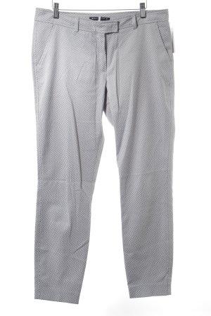 Expresso Pantalone jersey grigio chiaro-grigio motivo grafico