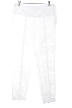 Expresso Pantalone jersey bianco stile casual