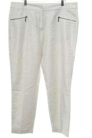 Expresso Stoffen broek wolwit-licht beige casual uitstraling