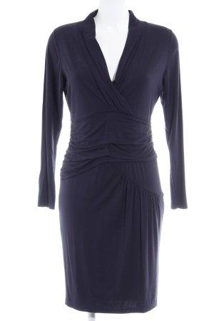 Expresso Vestido elástico azul oscuro look casual