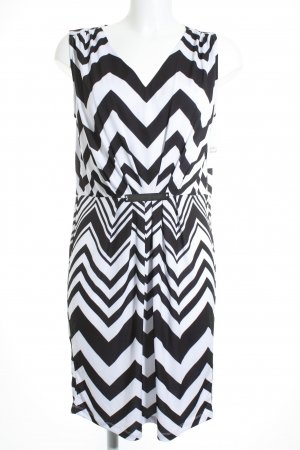 Expresso Stretch Dress white-black casual look