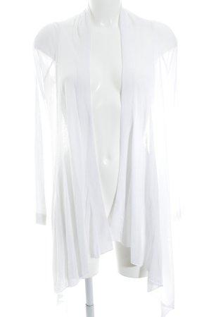 Expresso Cardigan in maglia bianco stile semplice