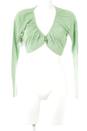 Expresso Strickbolero grün Casual-Look
