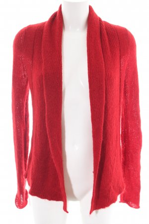 Expresso Strickjacke rot Casual-Look