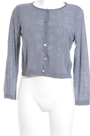 Expresso Giacca in maglia blu pallido stile casual