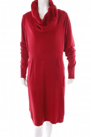 Expresso Strickkleid rot Casual-Look