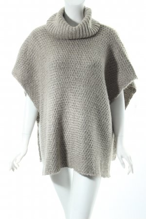 Expresso Strickponcho beige Casual-Look