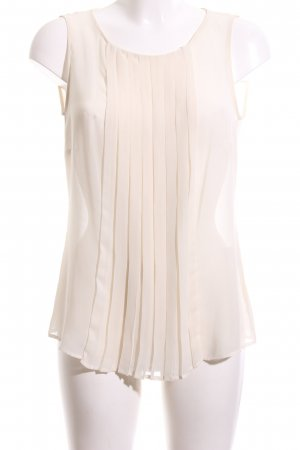 Expresso Transparenz-Bluse creme Casual-Look