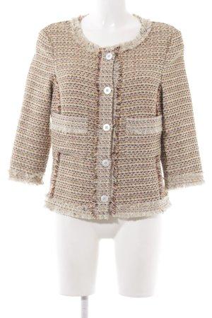 Expresso Tweed blazer veelkleurig dandy stijl