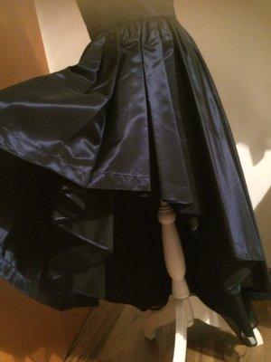 Exquisites Abendkleid, Satin, hochwertig gearbeitet, Königsblau