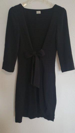 Agnona Balloon Dress black viscose