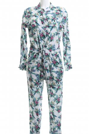 Jumpsuit Blumenmuster Casual-Look